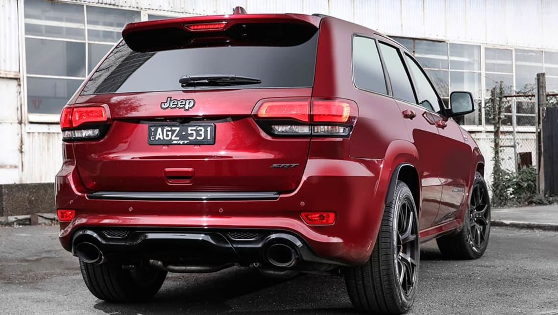 Brilliant Jeep Grand Cherokee SRT Night 2016 Review  First Drive