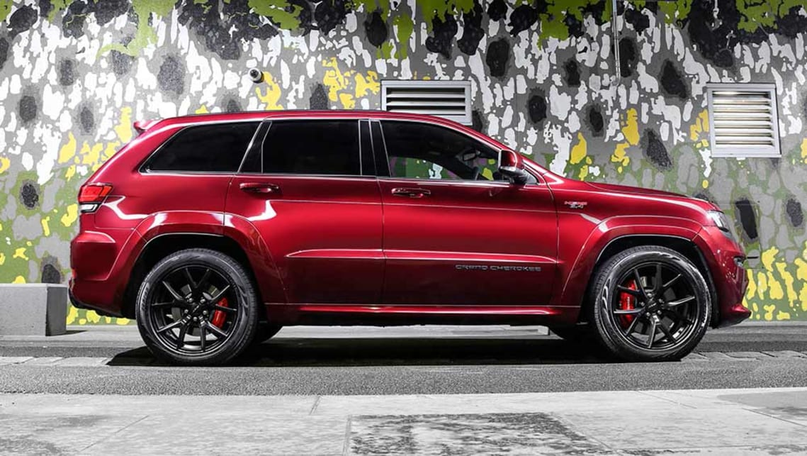 jeep grand cherokee srt night 2016 review first drive carsguide. Black Bedroom Furniture Sets. Home Design Ideas