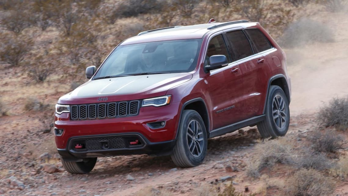 jeep grand cherokee 2017 new car sales price car news carsguide. Black Bedroom Furniture Sets. Home Design Ideas