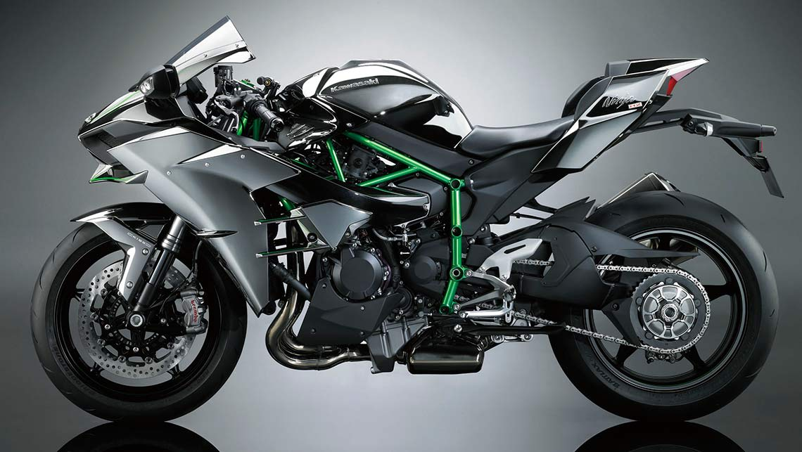 World's fastest motorcycle unveiled   Kawasaki Ninja H2 - Car News
