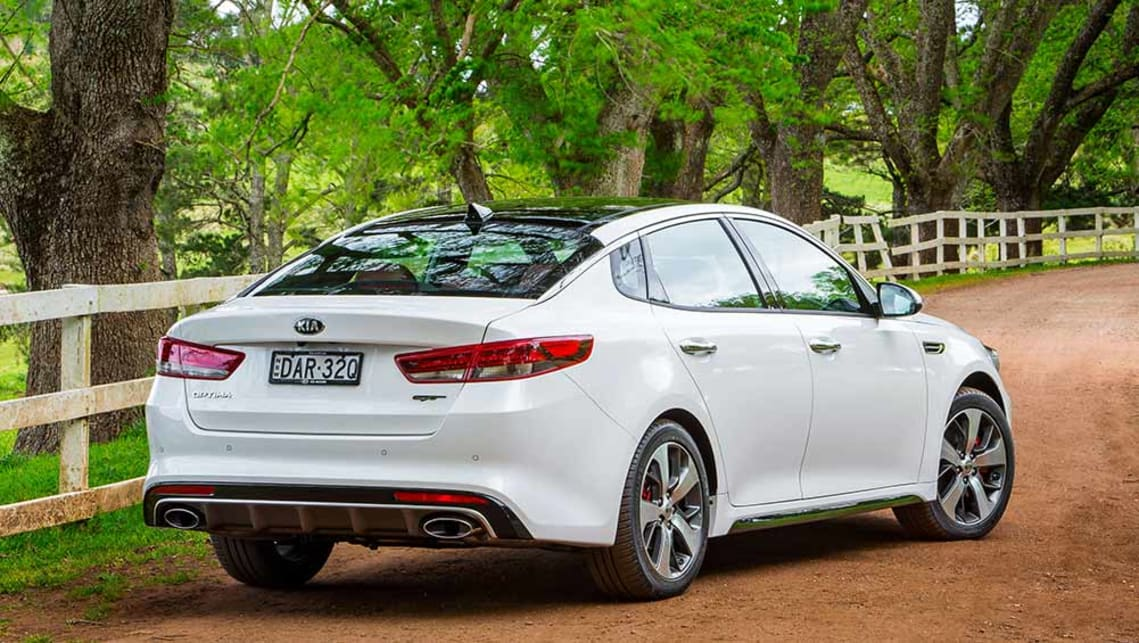 Kia Optima Gt 2016 Review Road Test Carsguide