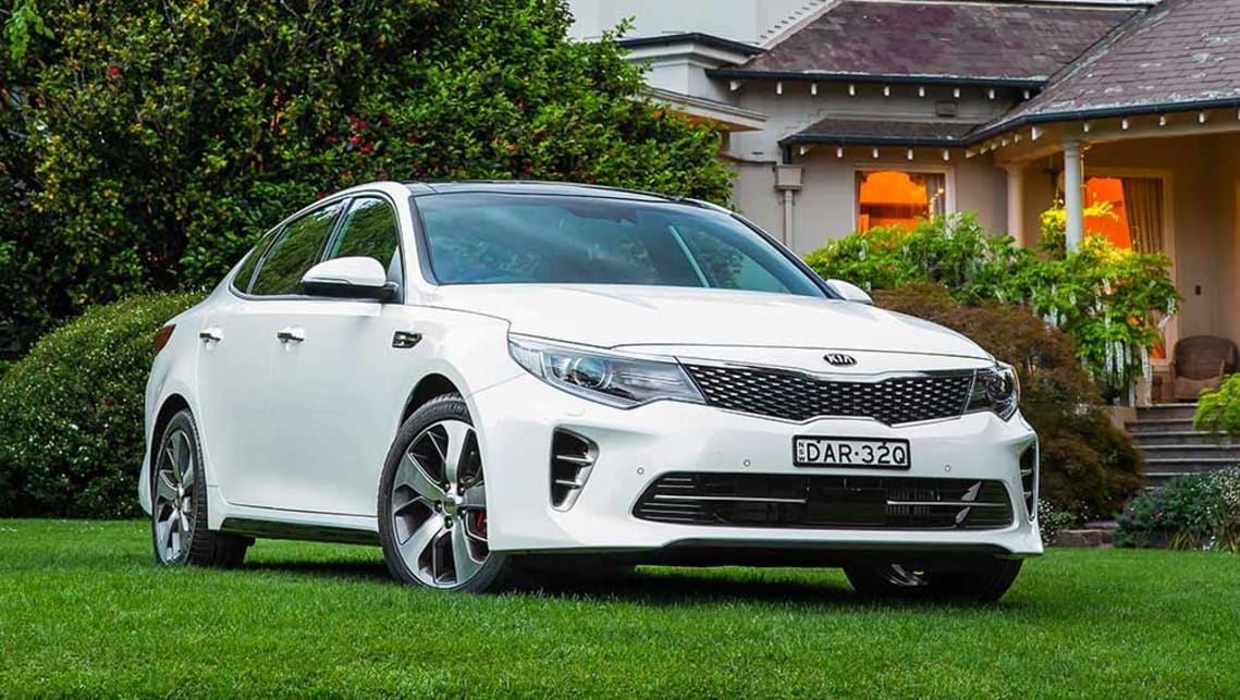kia optima gt 2016 review carsguide. Black Bedroom Furniture Sets. Home Design Ideas