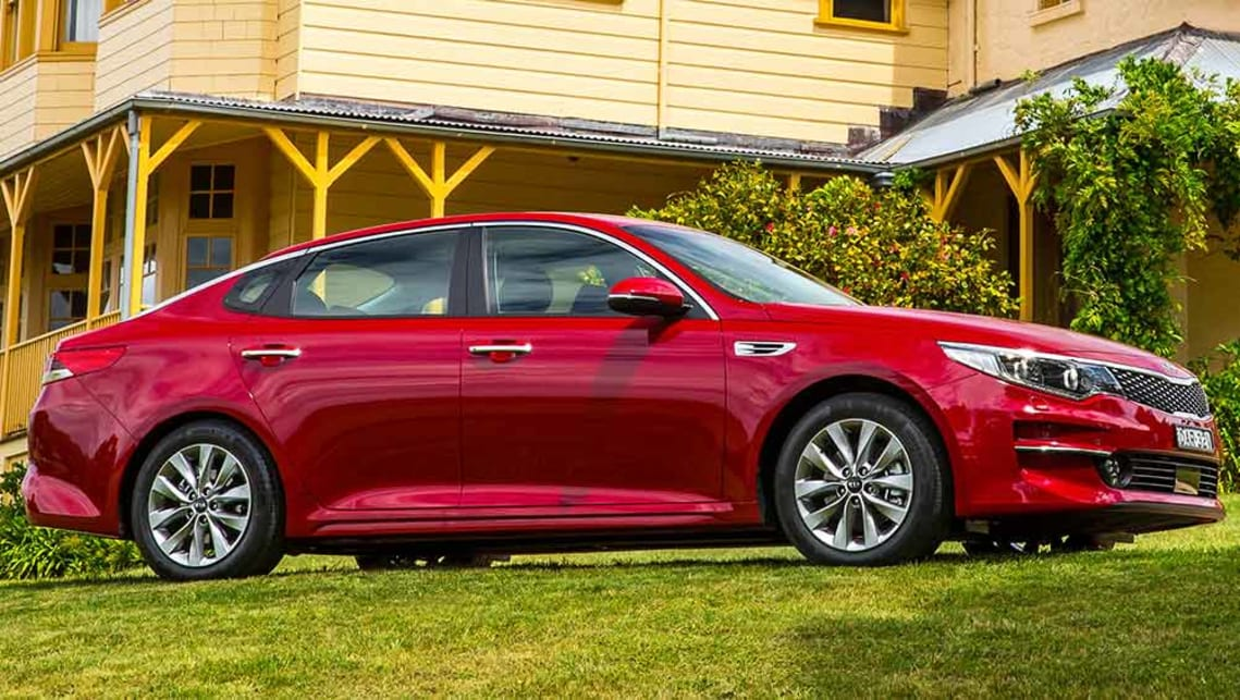 2016 kia optima si review road test carsguide. Black Bedroom Furniture Sets. Home Design Ideas