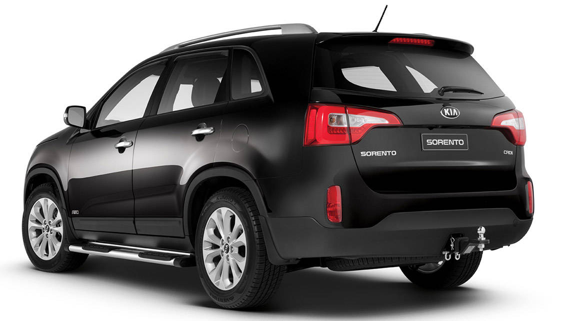 kia adds value to sorento car news carsguide. Black Bedroom Furniture Sets. Home Design Ideas