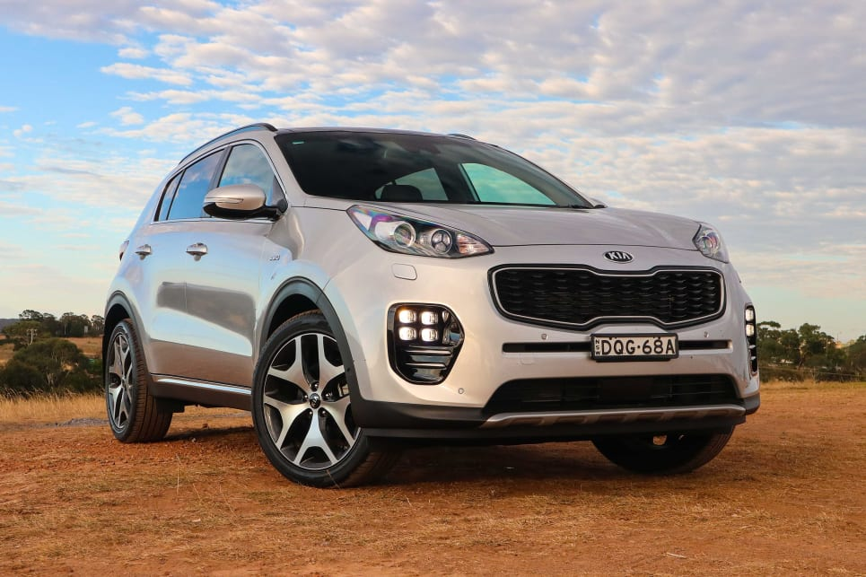 Exceptional Kia Sportage GT Petrol 2018 Off Road Review