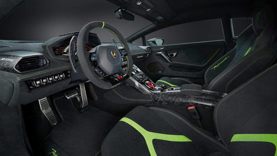 2017 lamborghini huracan performante revealed in geneva car news carsguide. Black Bedroom Furniture Sets. Home Design Ideas