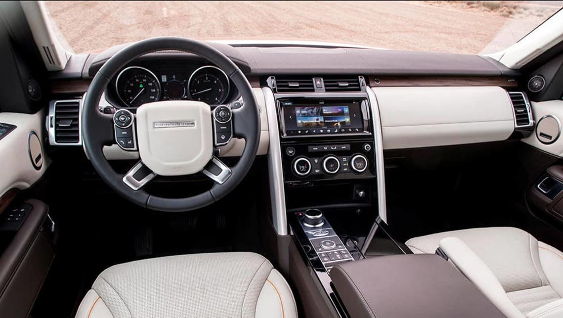 Land Rover Discovery 2017 Review First Drive Carsguide