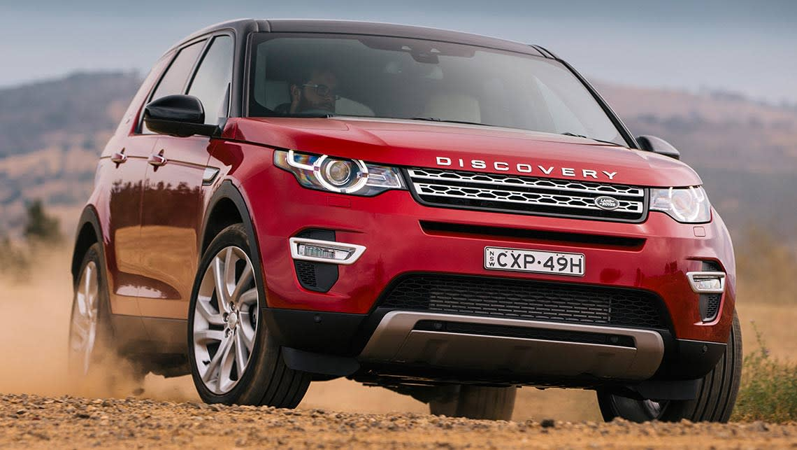 2016 land rover discovery sport sd4 hse review road test. Black Bedroom Furniture Sets. Home Design Ideas