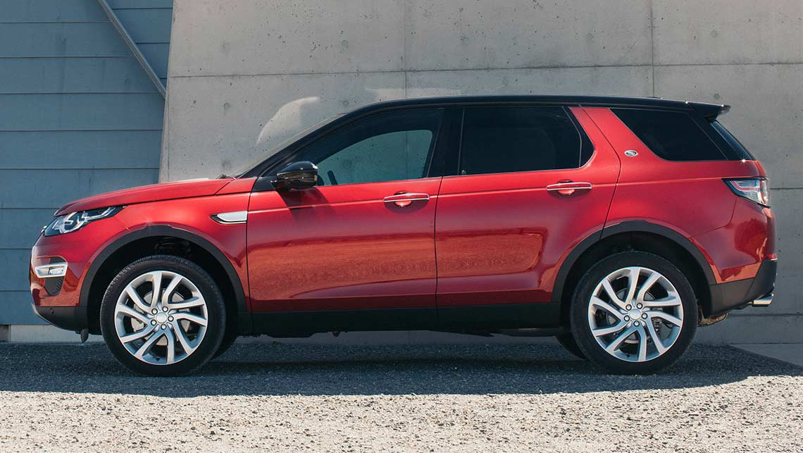 2016 land rover discovery sport sd4 hse review road test carsguide. Black Bedroom Furniture Sets. Home Design Ideas