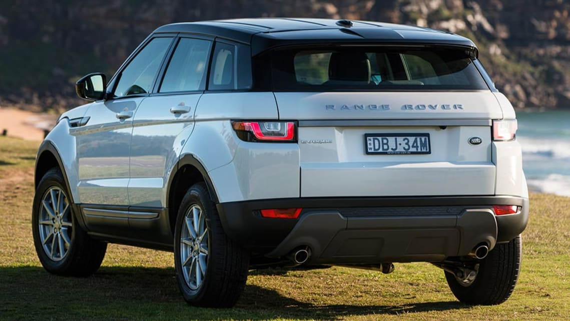 range rover evoque 2016 review carsguide. Black Bedroom Furniture Sets. Home Design Ideas