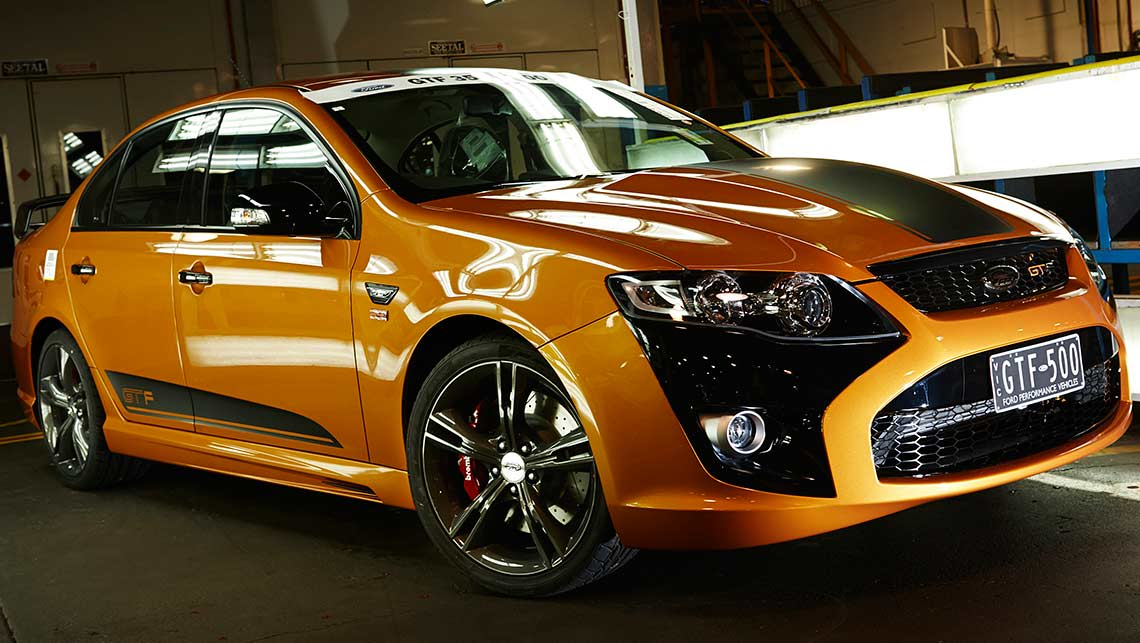The last Ford Falcon GT