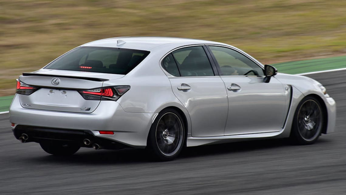 Lexus Gsf 2016 Review Carsguide