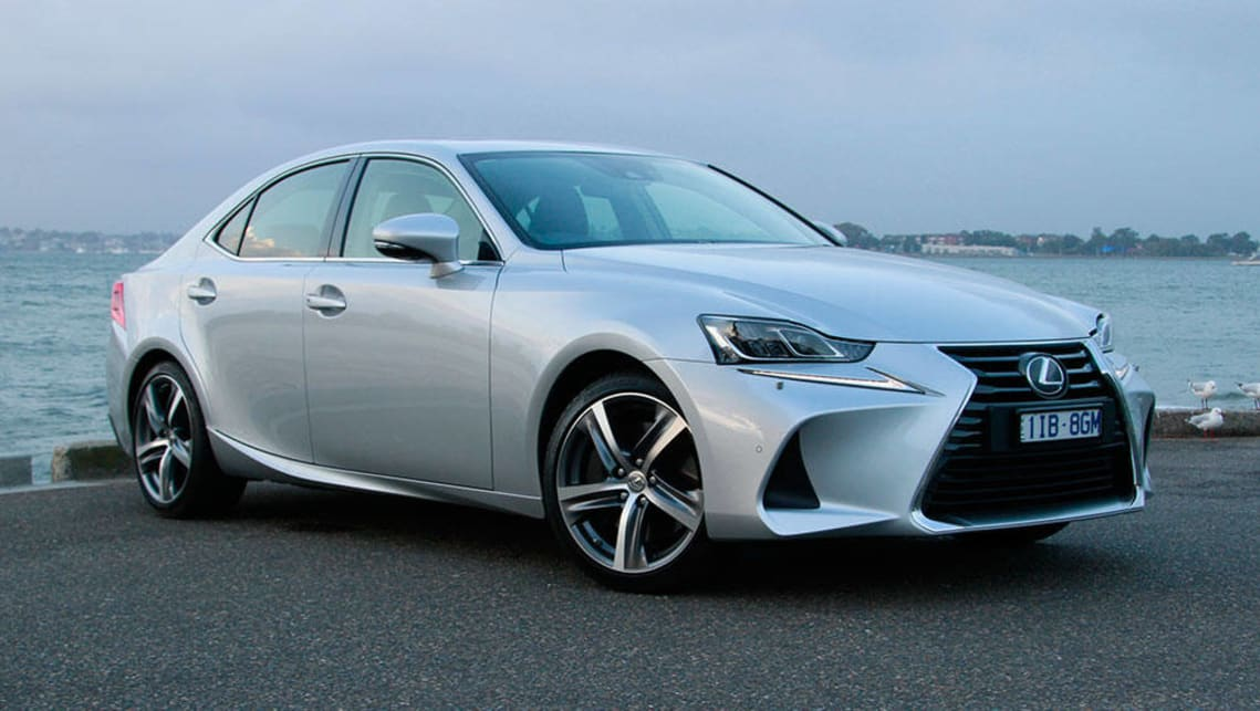 lexus is350 sport luxury 2017 review carsguide. Black Bedroom Furniture Sets. Home Design Ideas