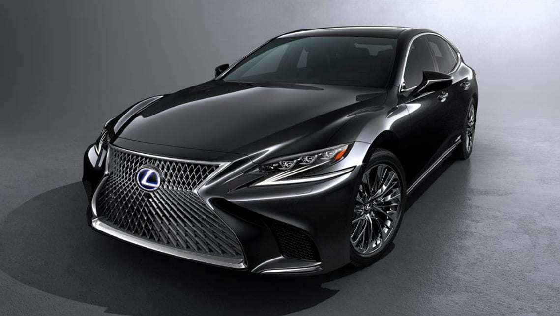 2018 lexus ls500h charges up car news carsguide. Black Bedroom Furniture Sets. Home Design Ideas