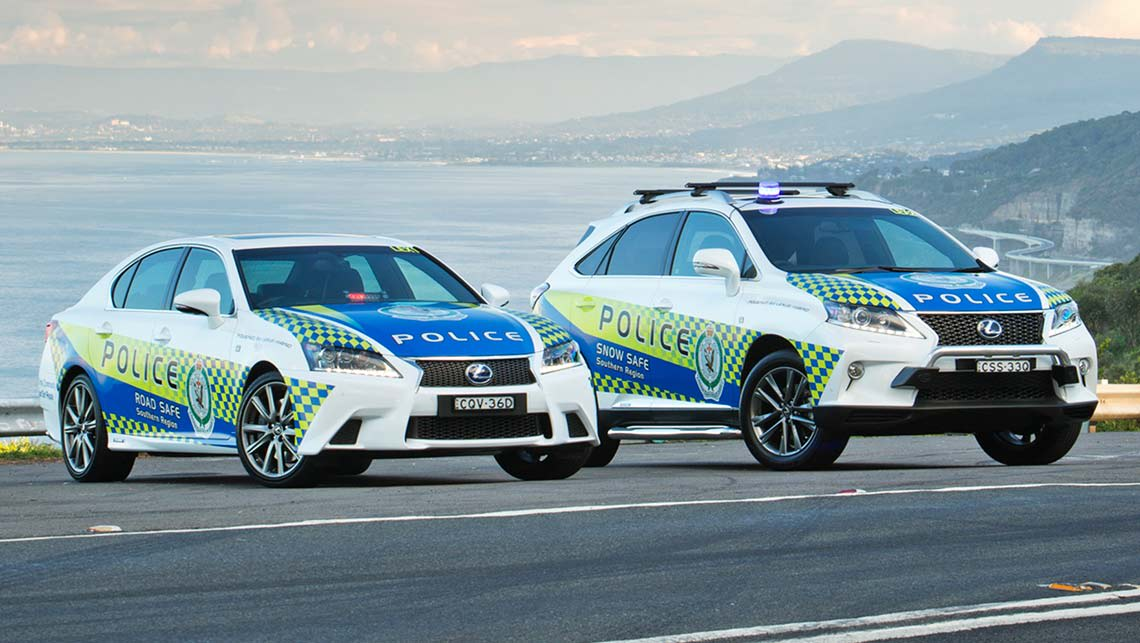 nsw police get luxury lexus hybrids car news carsguide. Black Bedroom Furniture Sets. Home Design Ideas