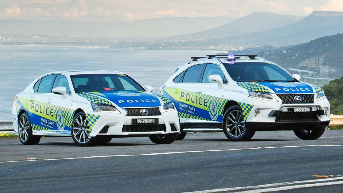nsw police get luxury lexus hybrids car news carsguide. Black Bedroom Furniture Sets. Home Design Ideas