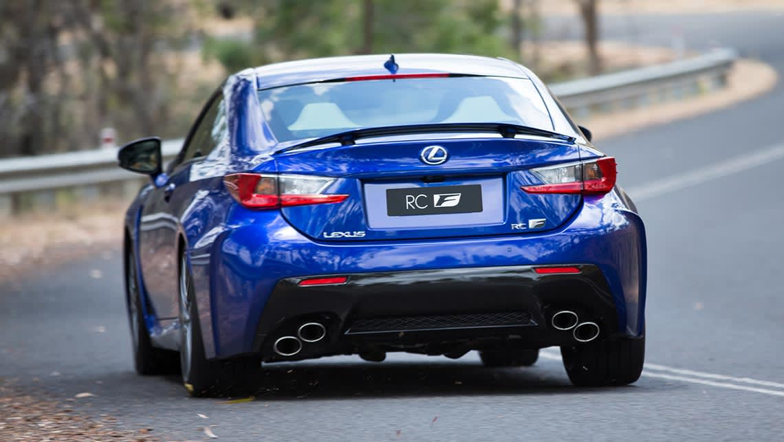 lexus rc f 2015 review road test carsguide. Black Bedroom Furniture Sets. Home Design Ideas
