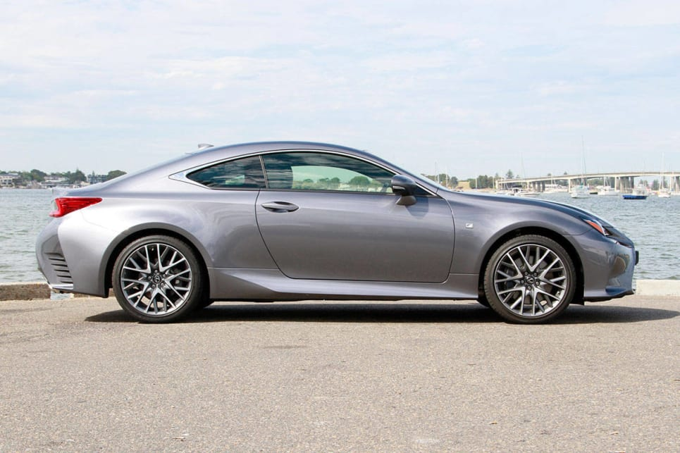 2017 Lexus RC200t F Sport. Image credit: Peter Anderson.