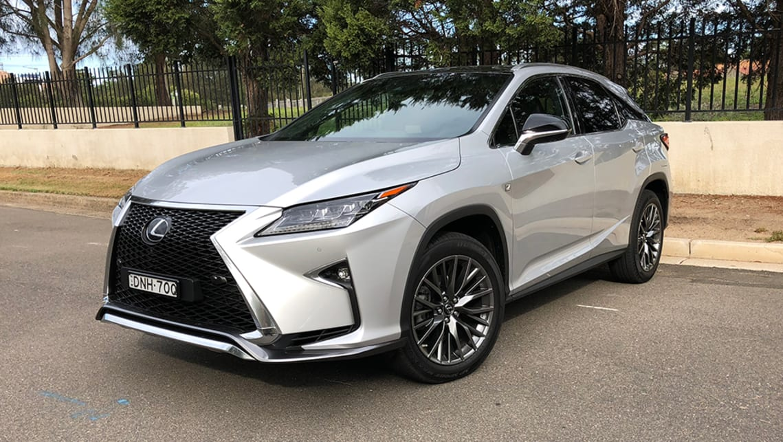 cars review lexus rx speed reviews top