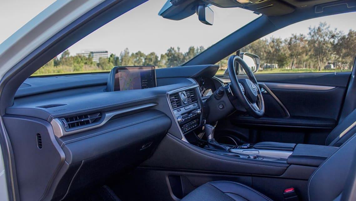 08224d30f065 Lexus RX 450h F Sport 2016 review