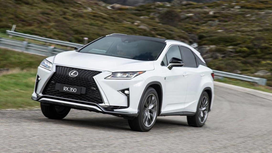 2016 lexus rx350 review road test carsguide. Black Bedroom Furniture Sets. Home Design Ideas