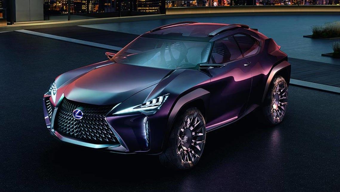 Lexus Reveals UX SUV Concept In Paris
