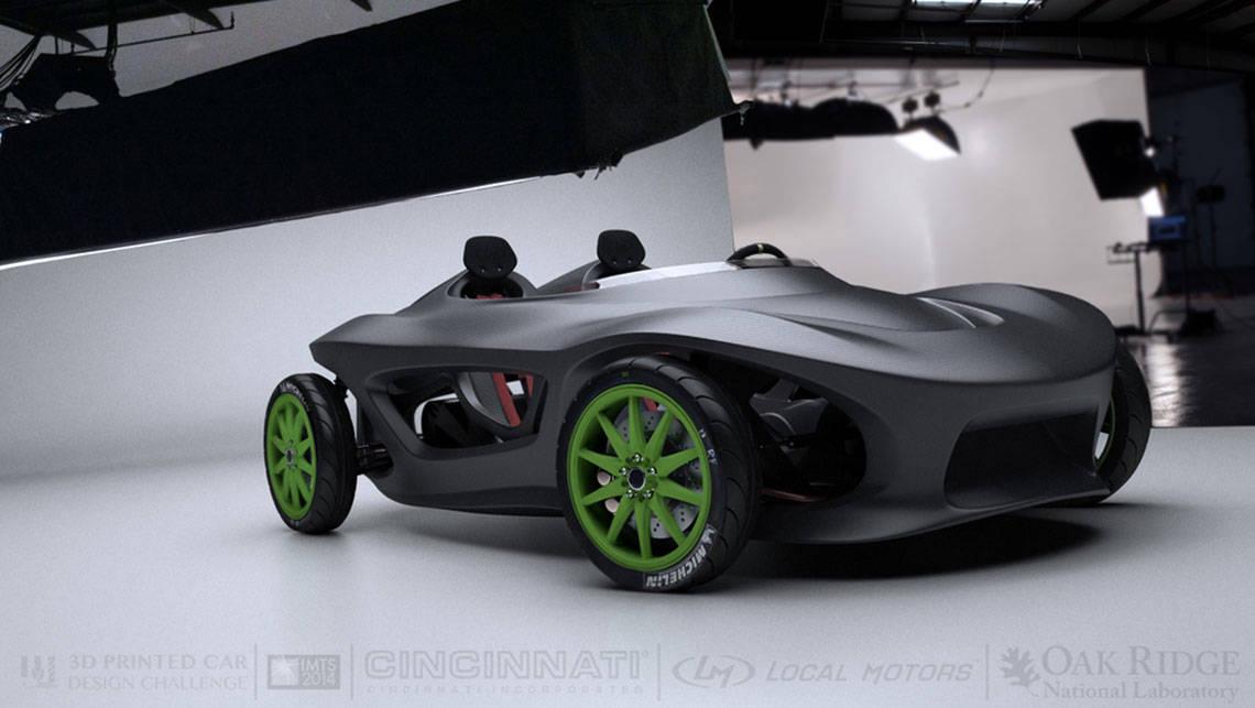 Local Motors 3d Printed Car Design Challenge Video Car