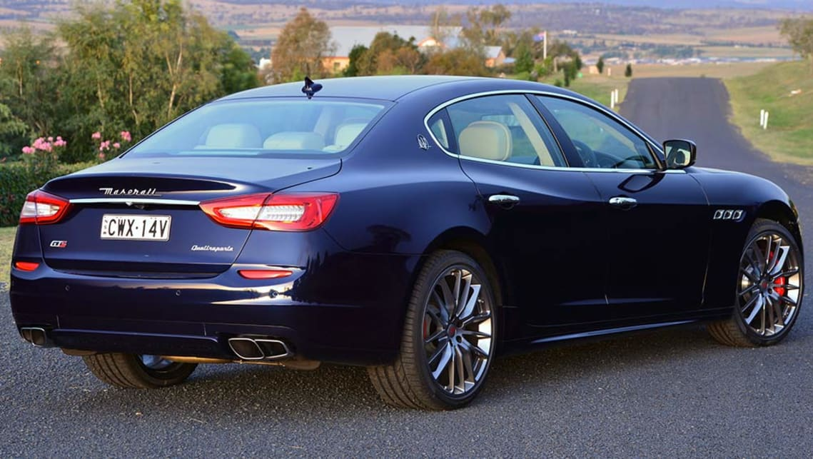 2016 Maserati Quattroporte Gts Review Road Test Carsguide