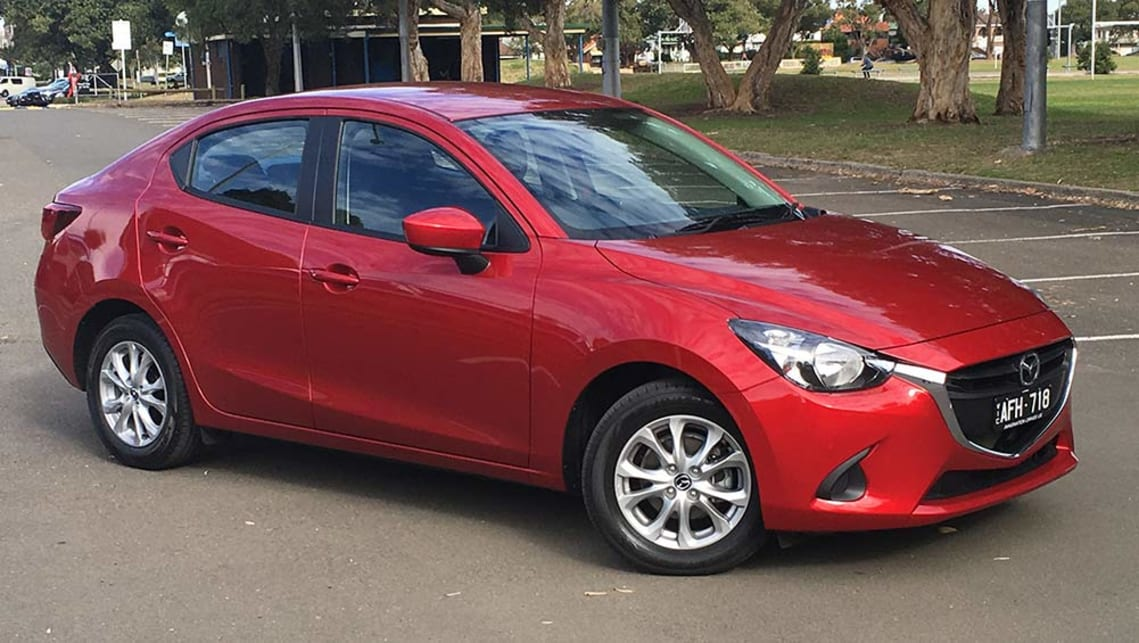 Mazda Maxx Sedan Auto Review Carsguide