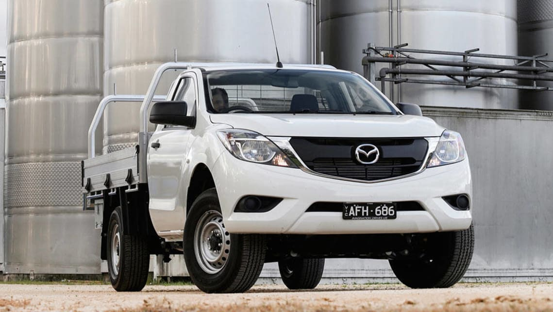 mazda bt 50 xt 4x2 cab chassis 2016 review carsguide. Black Bedroom Furniture Sets. Home Design Ideas