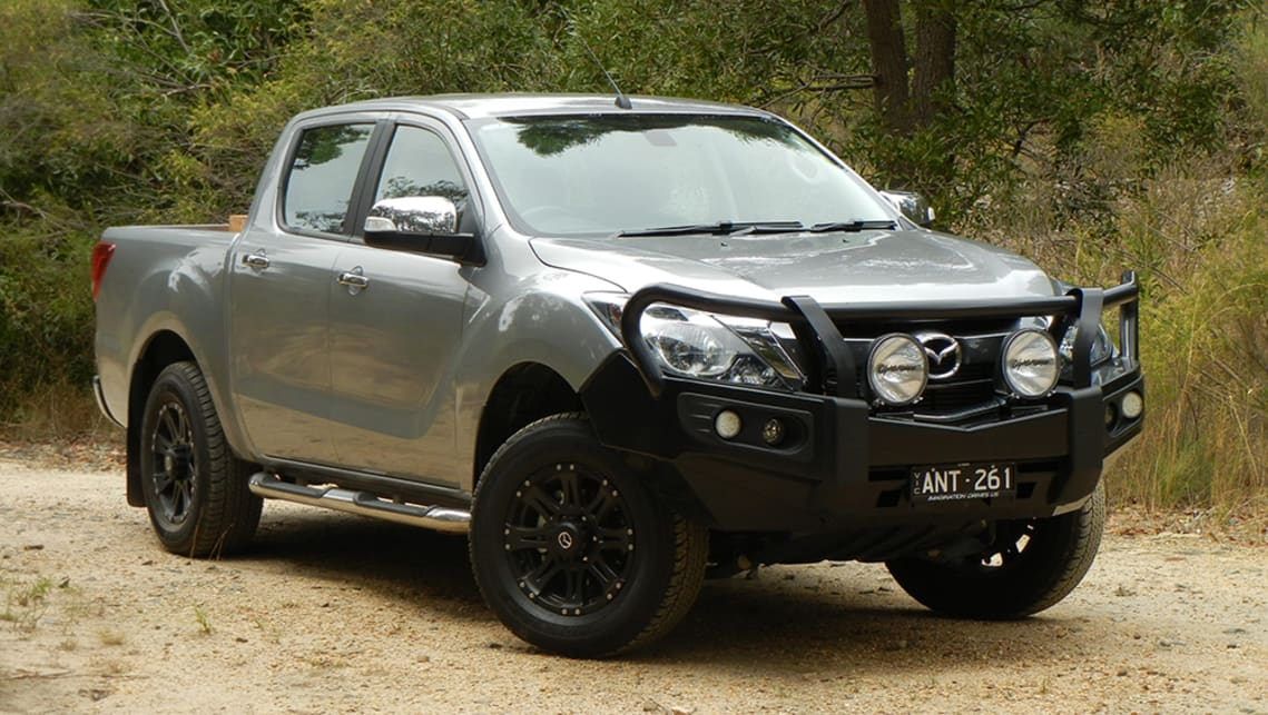 165add59f7ce68 Mazda BT-50 2018 review  GT