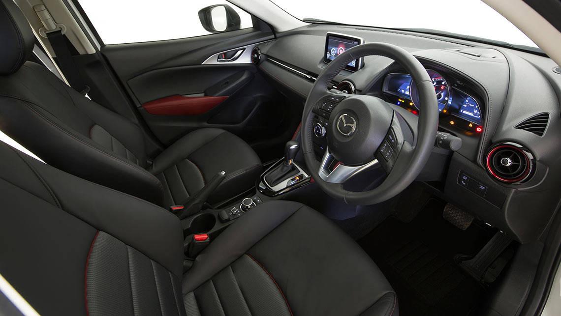 Mazda cx 3 2015 interior
