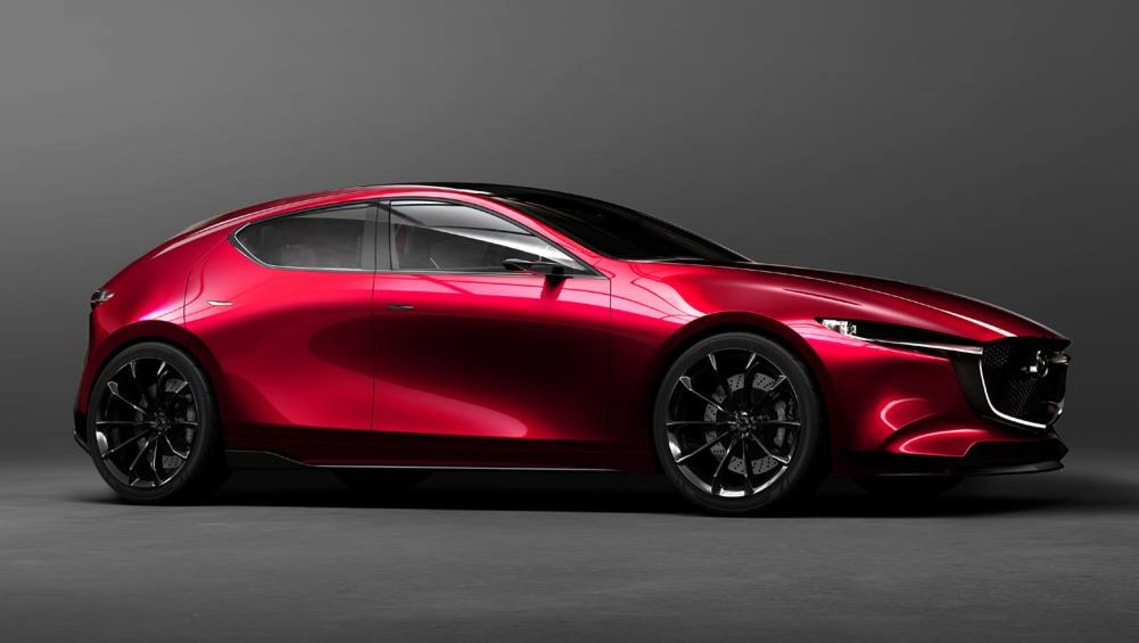 Awesome Mazda 3 2019 Previewed By Kai Concept In Tokyo