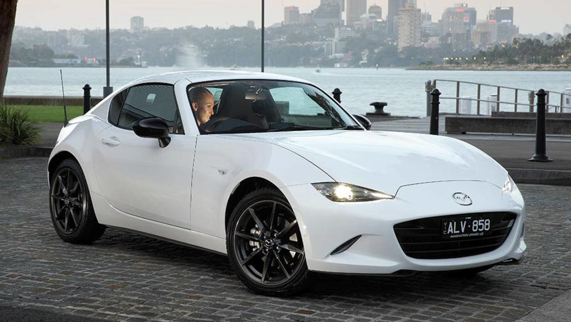 mazda mx 5 rf 2017 review carsguide. Black Bedroom Furniture Sets. Home Design Ideas