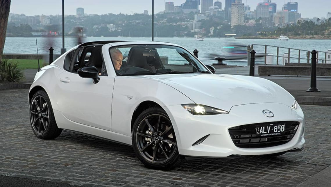 mazda mx 5 rf 2017 review first australian drive video. Black Bedroom Furniture Sets. Home Design Ideas