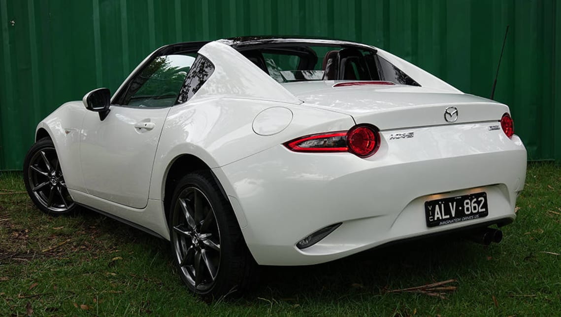 2017 Mazda MX-5 RF. Image credit: James Cleary.
