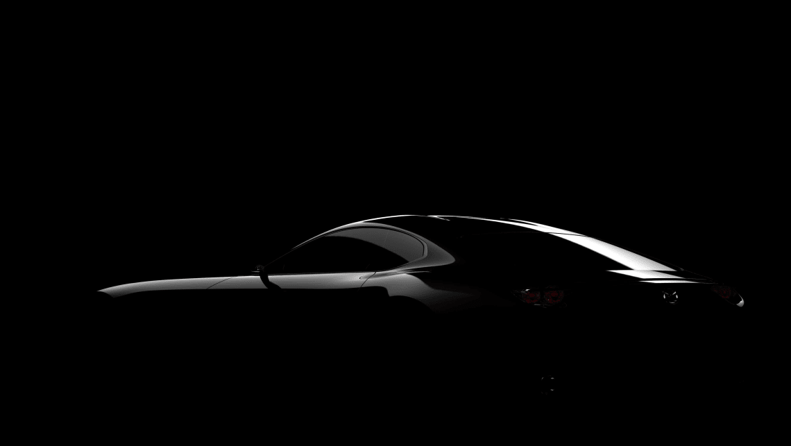 Teaser pic of Mazda's 2015 Tokyo motor show concept
