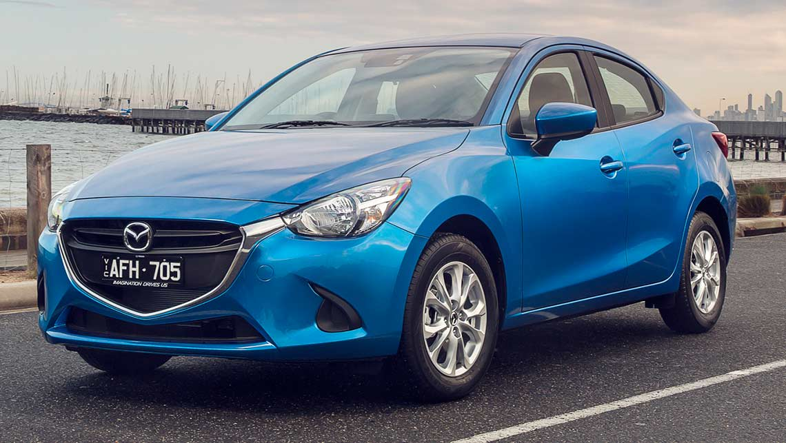 mazda2 sedan 2015 review carsguide. Black Bedroom Furniture Sets. Home Design Ideas