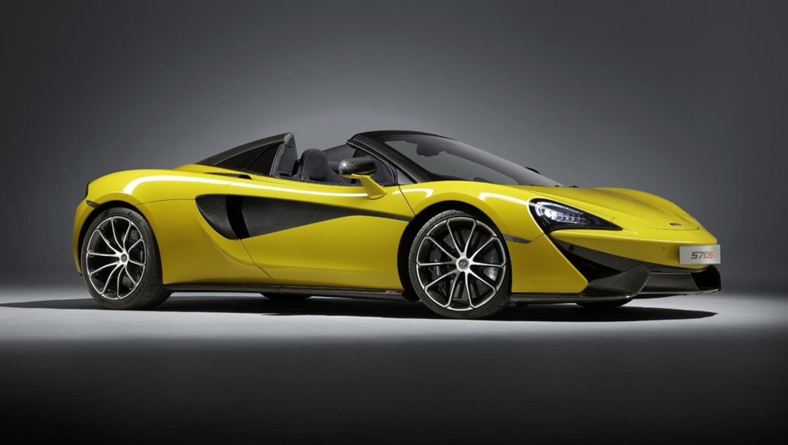 McLaren 570S Spider 2017 revealed and pricing for Aus confirmed ...