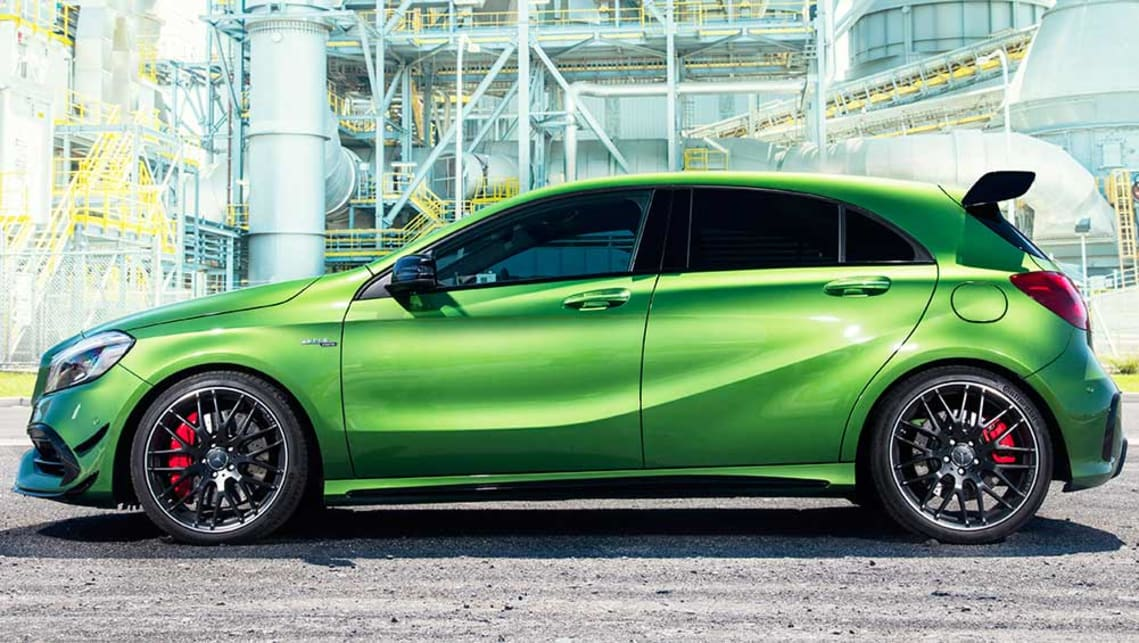 Green A45 Amg >> 2016 Mercedes-Benz A-Class review | first drive | CarsGuide