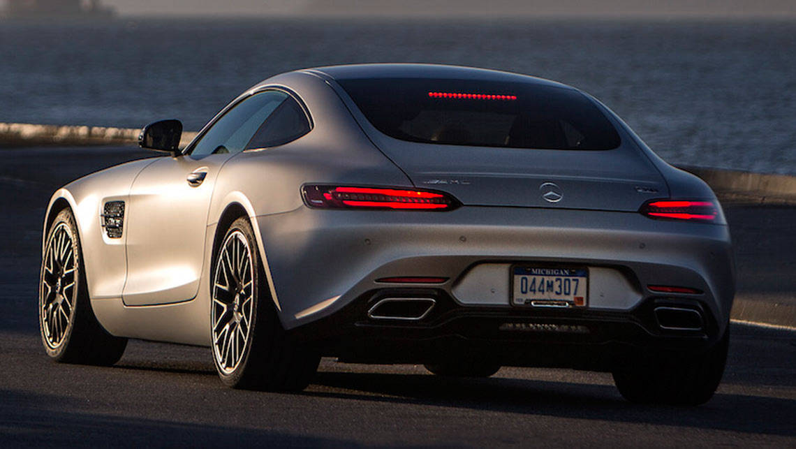 Mercedes benz amg gt s 2015 review carsguide for Mercedes benz amg gt coupe price