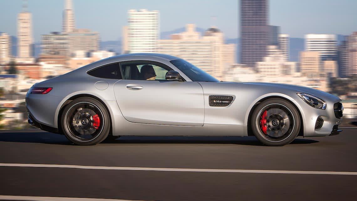 Mercedes benz amg gt s 2015 review carsguide for Mercedes benz amg gt price