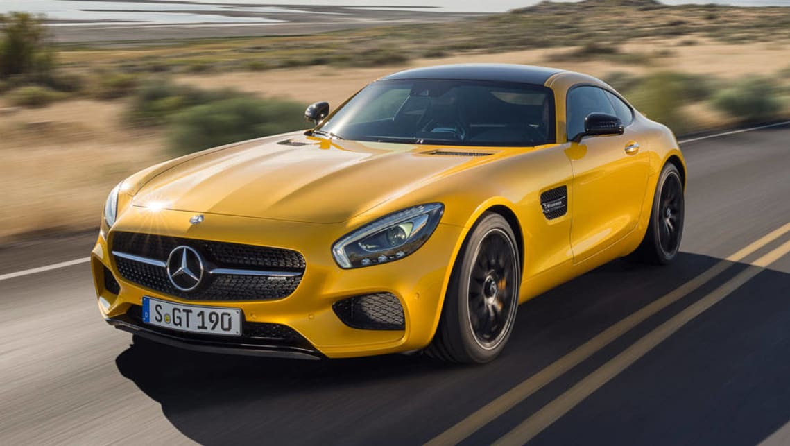 Entry level mercedes amg gt sprints in car news carsguide for 2017 mercedes benz gts amg price