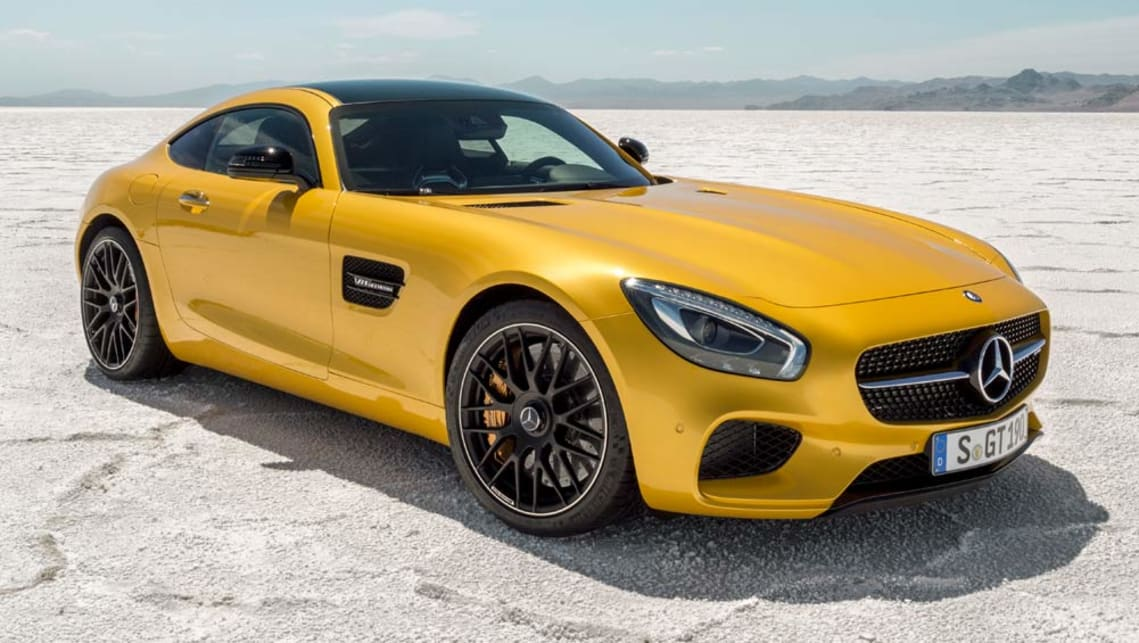 Entry level mercedes amg gt sprints in car news carsguide for 2017 mercedes benz amg gt