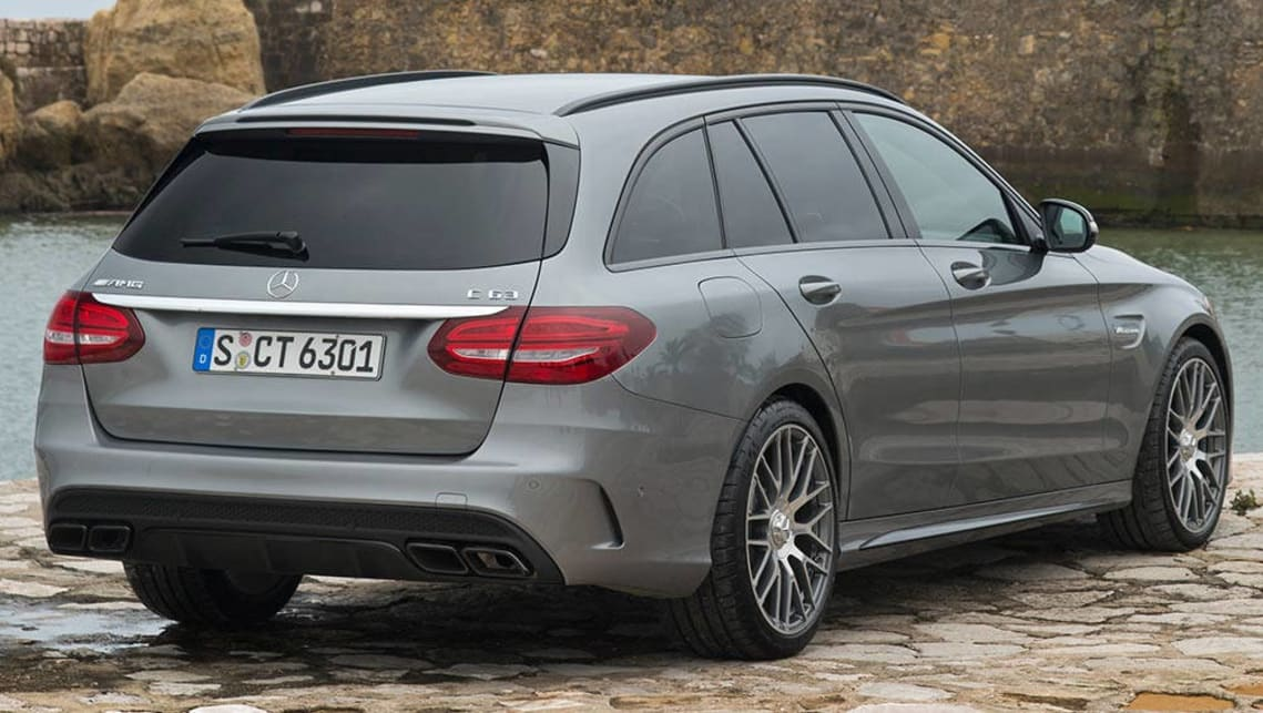 Mercedes benz c class 2015 review carsguide for Mercedes benz c63 amg wagon