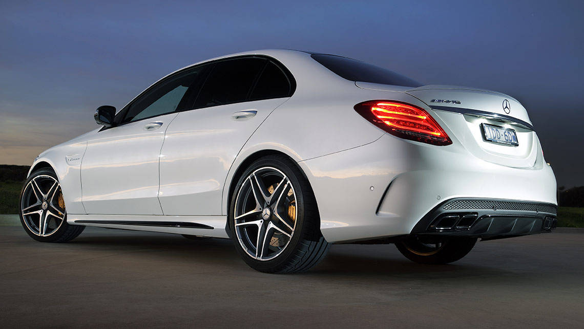 Mercedes benz c63 amg s 2015 review carsguide for Mercedes benz amg used