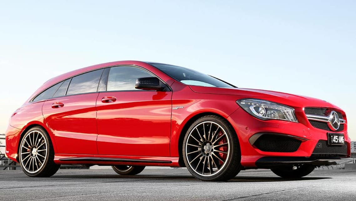 Cla Shooting Brake Review >> Mercedes-Benz CLA 45 AMG Shooting Brake 2016 review | CarsGuide