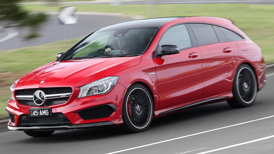mercedes benz cla 45 amg shooting brake 2016 review carsguide. Black Bedroom Furniture Sets. Home Design Ideas