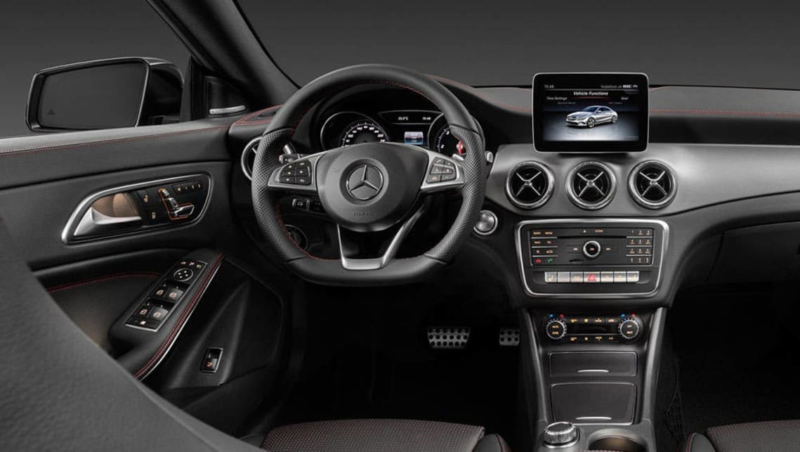 ... 2016 Mercedes Benz CLA Coupe (international Images)