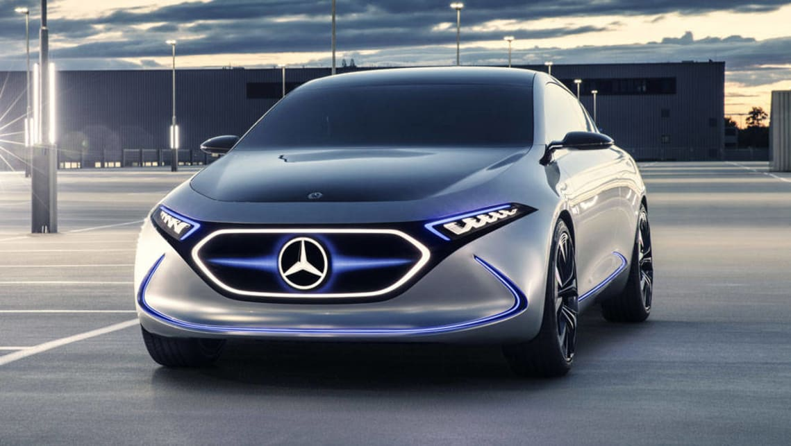 Mercedes Benz Eqa Ev Concept Revealed In Frankfurt Car
